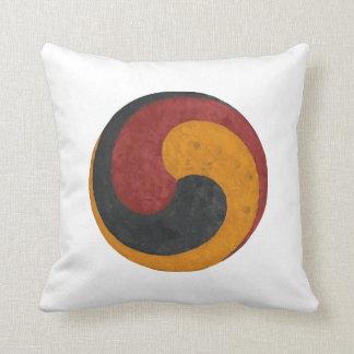 Sam-Taegeuk Throw Pillow