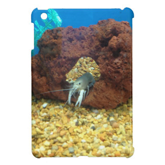 Sam the blue lobster crayfish iPad mini cover