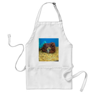 Sam the blue lobster crayfish standard apron