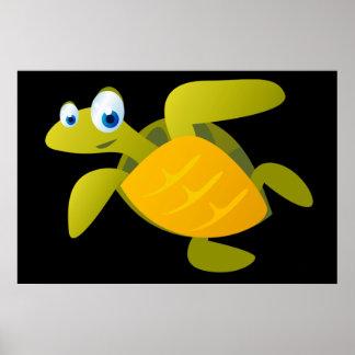 Sam The Sea Turtle Poster