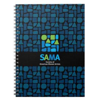 SAMA Notebook Journal - Mosaic Art