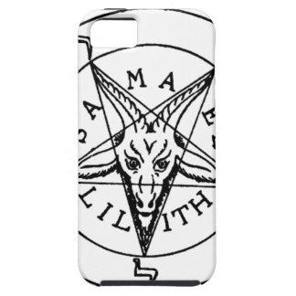 Samael Lilith Goat Pentagram iPhone 5 Cases