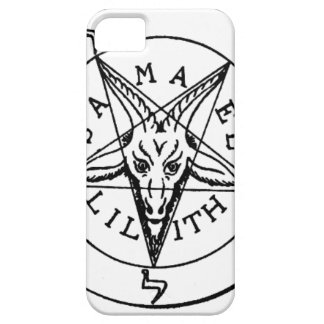 Samael Lilith Goat Pentagram iPhone 5 Cover