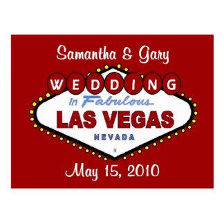 Samantha & Gary LV Postcard 2