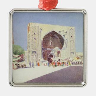 Samarkand, 1869-71 Silver-Colored square ornament