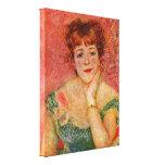 Samary-portrait de Pierre-Auguste Renoir - de Jean Toiles Tendues Sur Châssis