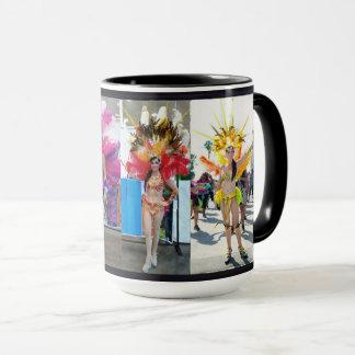 samba dance brazilian gift coffee lover mulher tan mug