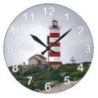 Sambro Island Lighthouse Large Clock