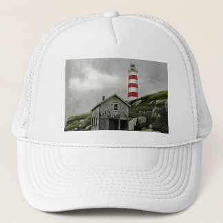 Sambro Lighthouse, Sambro Island, Nova Scotia Trucker Hat