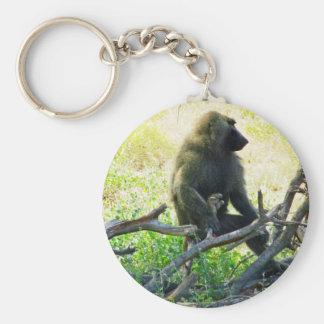 Samburu Baboon Keychain