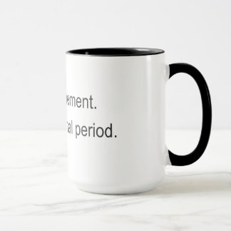 Same crap, different day for the poet mug