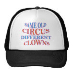 SAME OLD CIRCUS DIFFERENT CLOWNS
