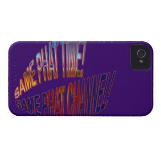 Same Phat Time! Same Phat Channel! Mens and Womans iPhone 4 Cases