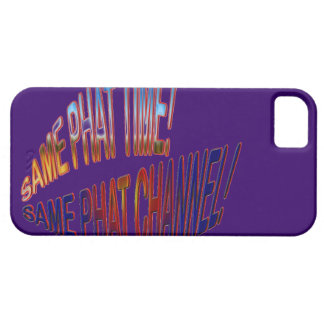 Same Phat Time! Same Phat Channel! Mens and Womans iPhone 5 Cover