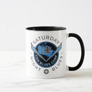 Samedi soir bleus tasse