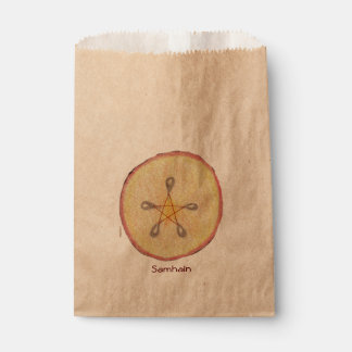 Samhain Apple Slice Witch Wiccan Pagan Favour Bag