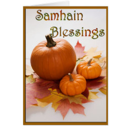 Blessed samhain cards photocards invitations more samhain blessings card m4hsunfo