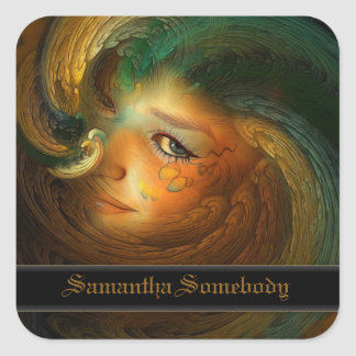 Samhain Bookplate Stickers