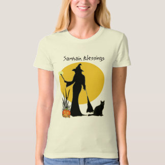 Samhain Moon Witch- T-Shirt