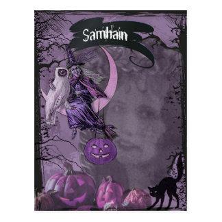 Samhain Pagan Fantasy Art Postcard