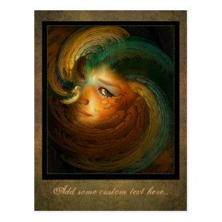 Samhain Postcard