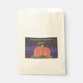 Samhain Pumpkin Night Favour Bag