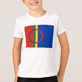 Sami Flag Kids' Ringer T-Shirt