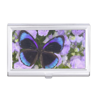 Sammamish Washington Photograph of Butterfly 2 Business Card Holder