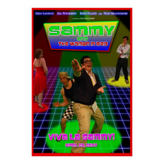 Sammy and the Woman in Red Theatrical Poster