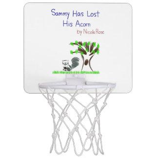 Sammy Has Lost His Acorn mini basketbll hoop