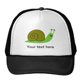Sammy the Green Garden Snail Hat