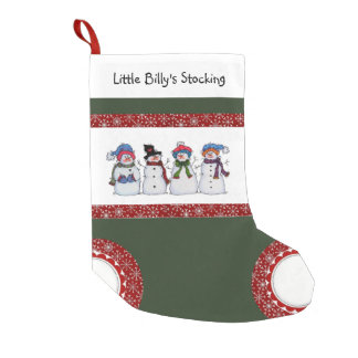 Sammy the Snowman and Friends Christmas Stocking