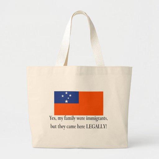 Samoa Canvas Bags
