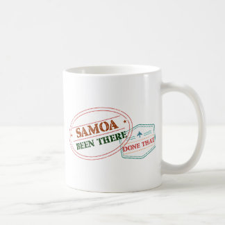 Samoa Been There Done That Coffee Mug