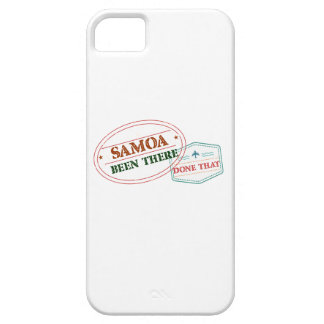 Samoa Been There Done That iPhone 5 Cover