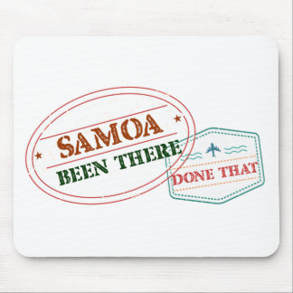 Samoa Been There Done That Mouse Pad