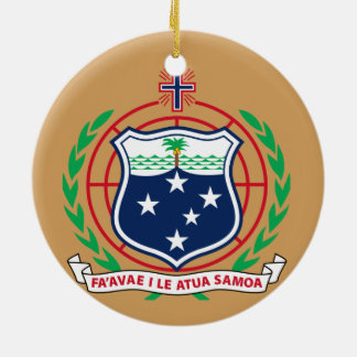 Samoa Christmas Ornament