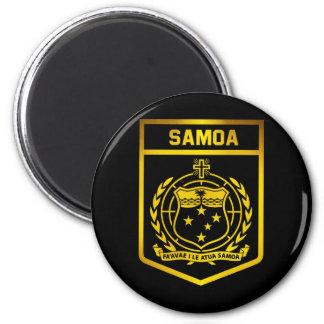 Samoa Emblem Magnet