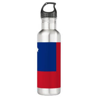 Samoa Flag 710 Ml Water Bottle