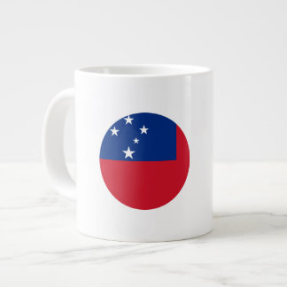 Samoa Flag Large Coffee Mug