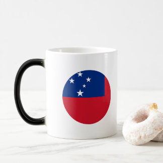 Samoa Flag Magic Mug