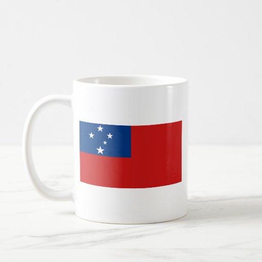Samoa Flag ~ Map Mug