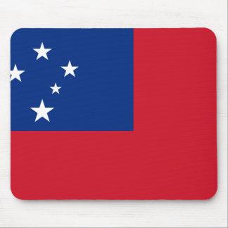 Samoa Flag Mouse Pad