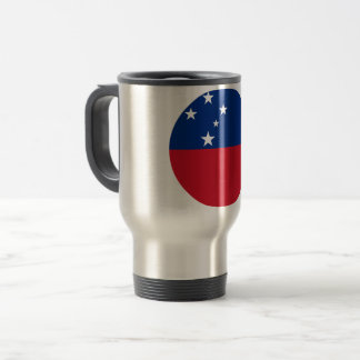 Samoa Flag Travel Mug