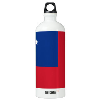 Samoa Flag Water Bottle