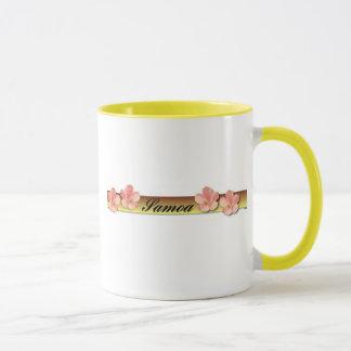 Samoa on Gold Bar Mug