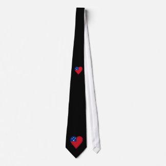 Samoa Samoan flag Tie