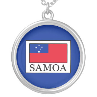 Samoa Silver Plated Necklace