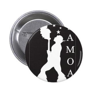 SamoaBlackWhite.ai 2 Inch Round Button