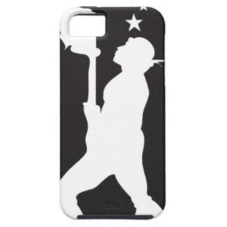SamoaBlackWhite.ai iPhone 5 Cases